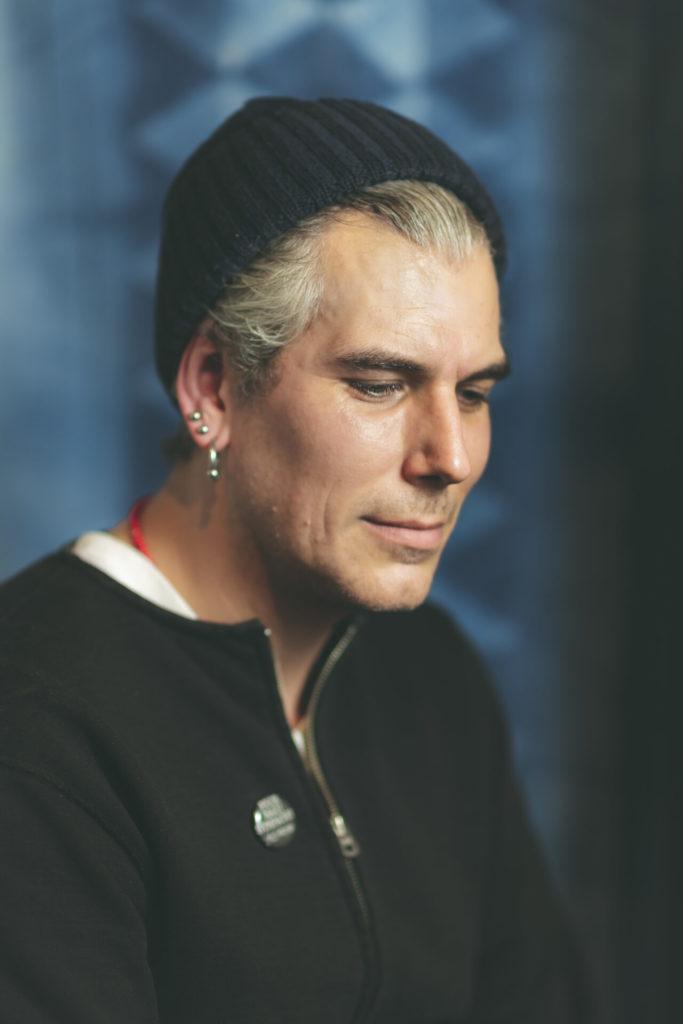 Blue Blooded Portfolio, male portrait, Josh from Statement Store in Munich.