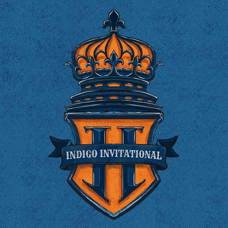 Indigo Invitational crest