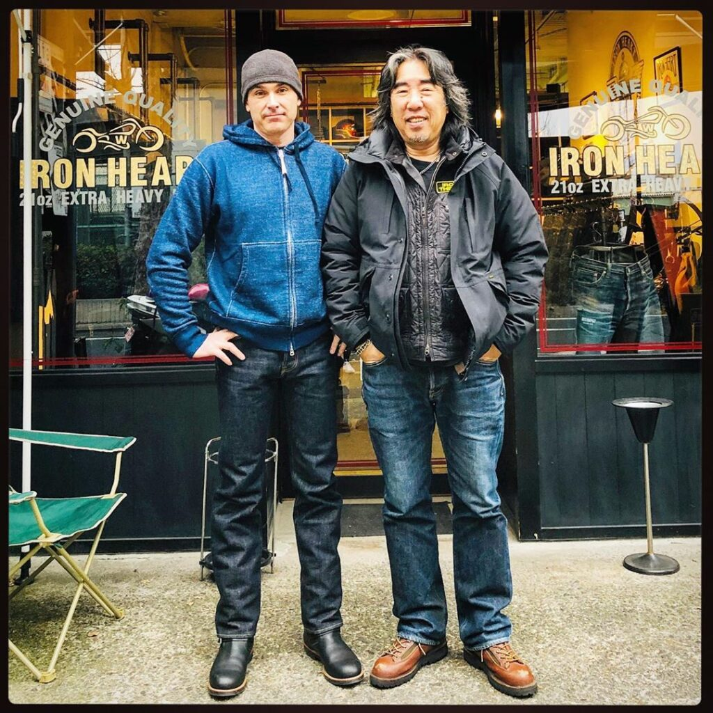 Dave Stewart, Japanalogue, Denimhunters Podcast, Haraki-san, Iron Heart