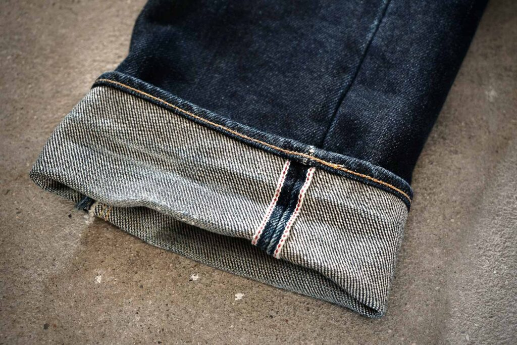 how to cuff jeans, cuffing, Denimhunters, denim guide, single mega cuff,