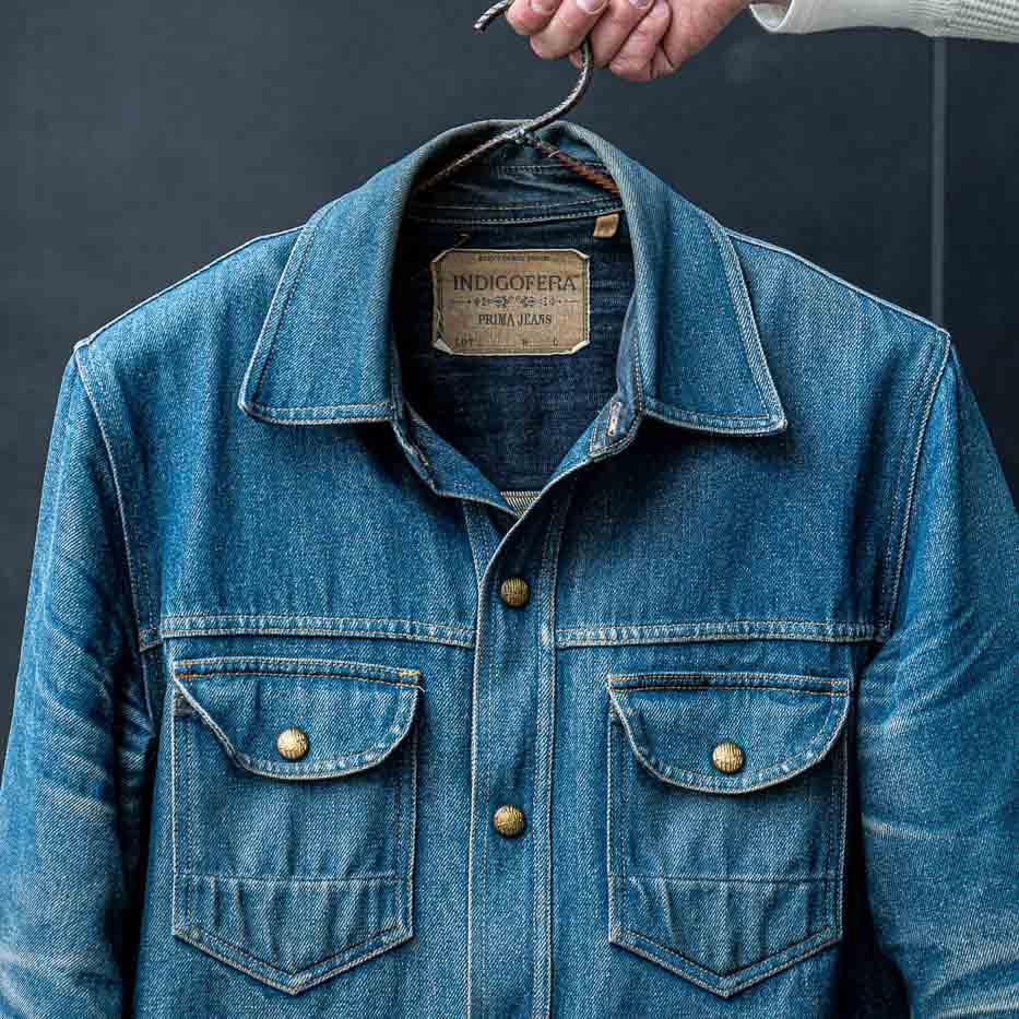 Indigofera Fabric 49 Fargo shirt from Statement Store