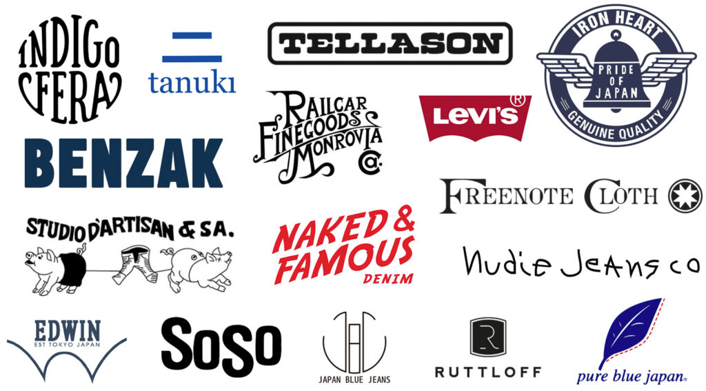 raw denim brands, raw denim, denimhunters, indigofera, indigofera jeans, tanuki, tellason, iron heart, benzak, bdd, benzak denim developers, railcar, railcar fine goods, levis, levi's, lvc, freenote, freenote cloth, naked & famous denim, naked and famous, nudie, nudie jeans, studio d'artisan, studio dartisan, edwin, edwin europe, edwin jeans, soso, soso jeans, soso brothers, japan blue jeans, ruttloff, rutloff, pure blue japan,
